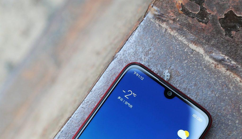 Redmi Note 7 - Top Notch