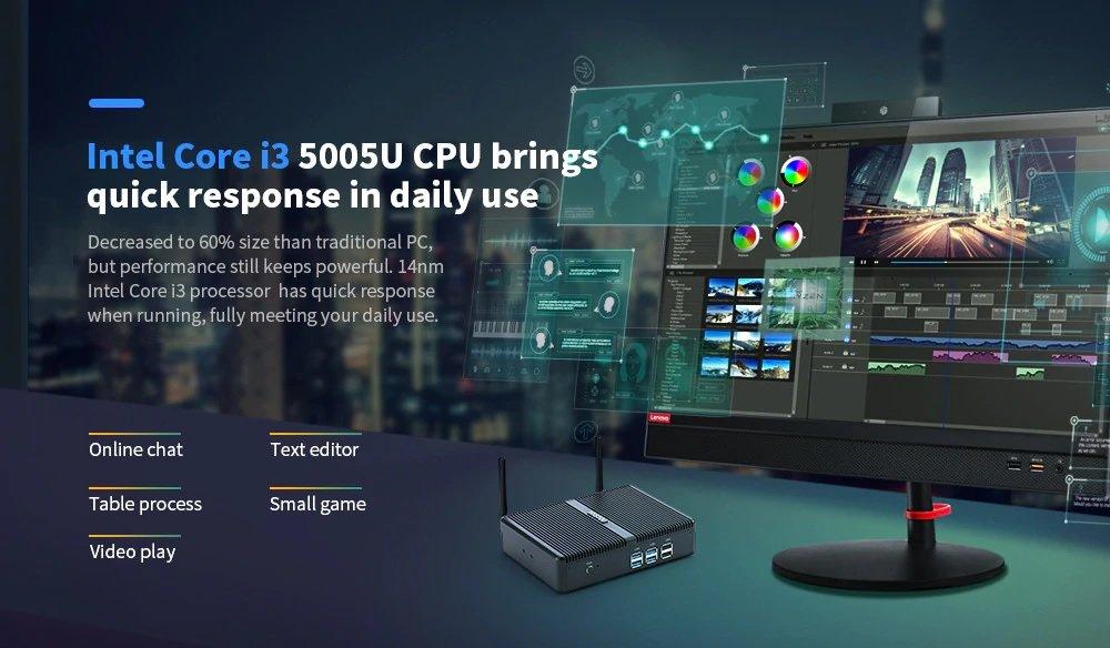 HYSTOU H2 I3 5005U Mini PC
