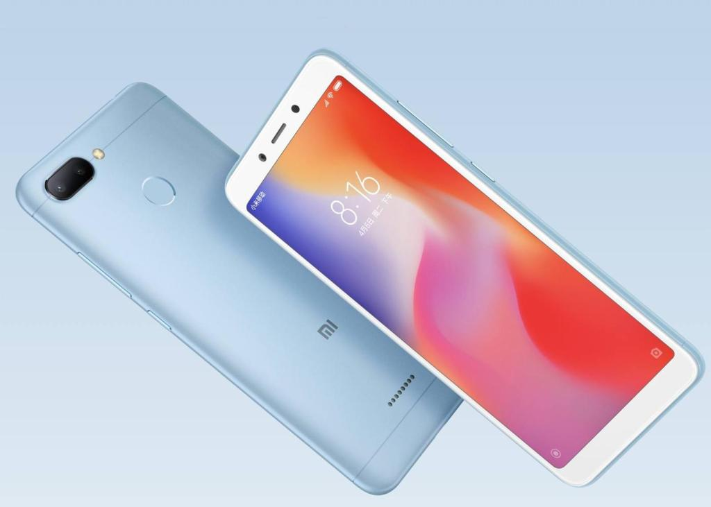 Redmi 7 vs Redmi 6 vs Redmi Go - Redmi 6 Design