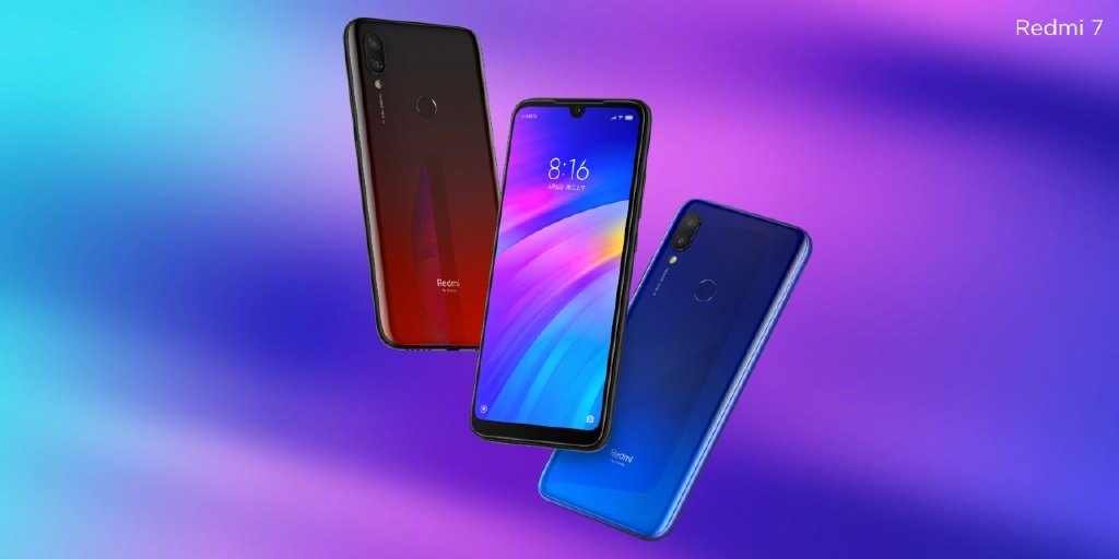 Redmi 7 vs Redmi 6 vs Redmi Go - Redmi 7 Colors