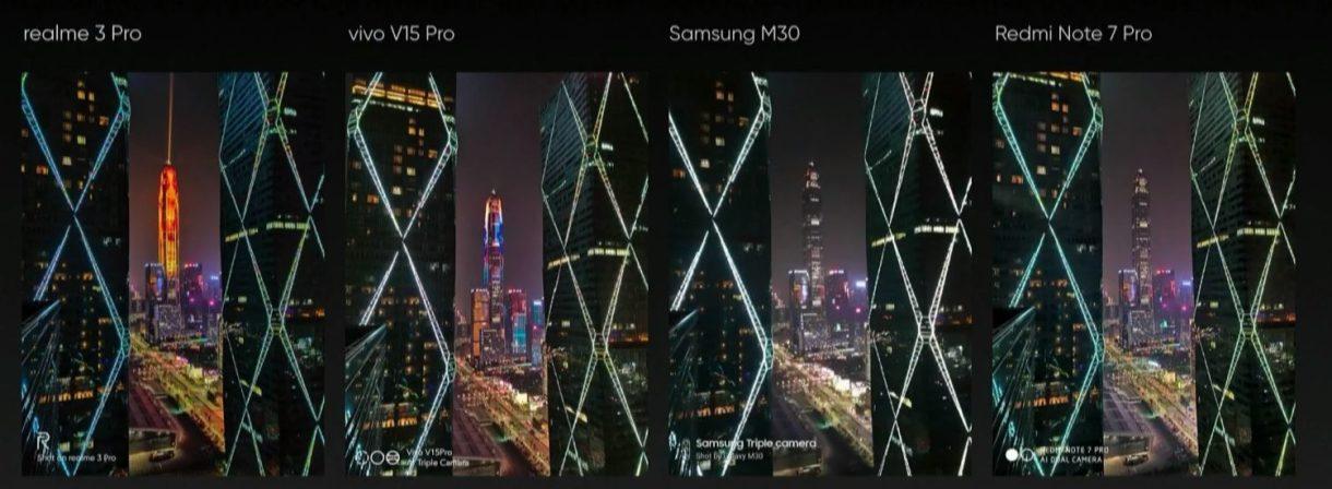 realme 3 pro vs Redmi note 7 pro vs Samsung M30 vs Vivo V15 Pro Camera comparison