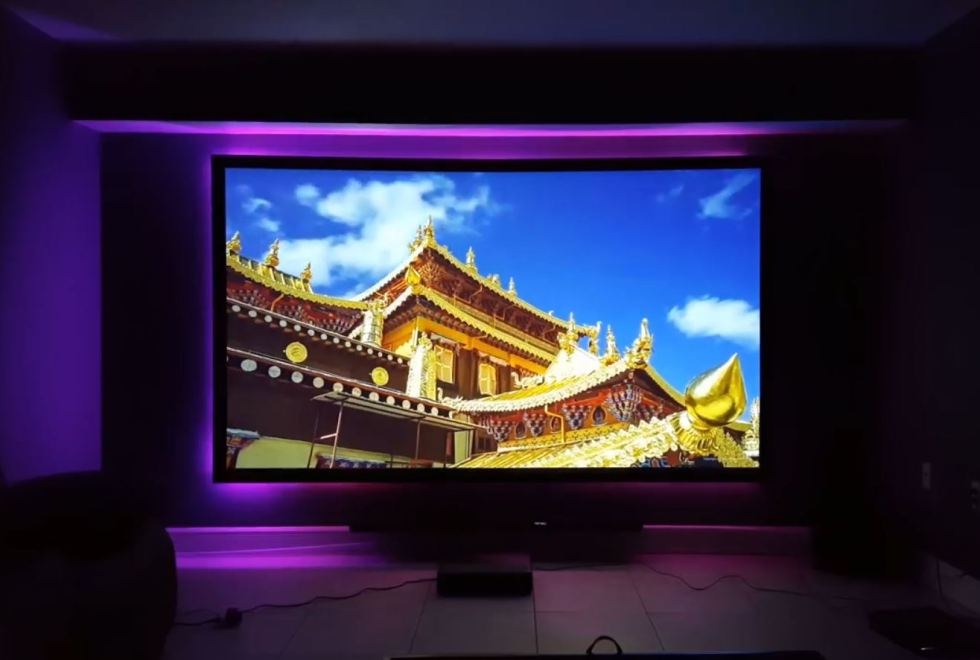 Xiaomi Wemax ONE PRO Projector – projection sample 1