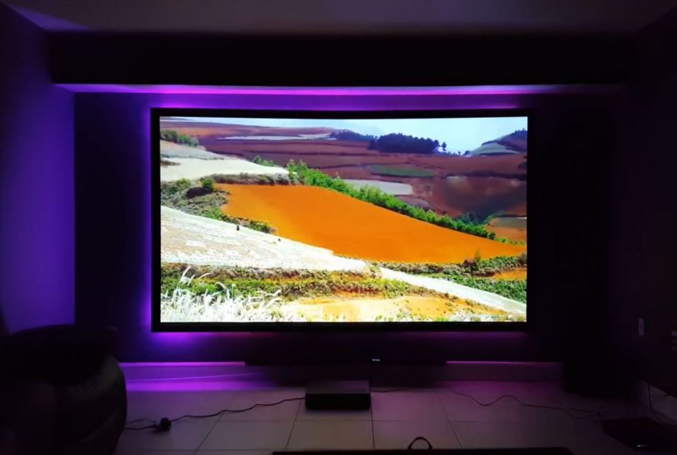 Xiaomi Wemax ONE PRO Projector – projection sample 2