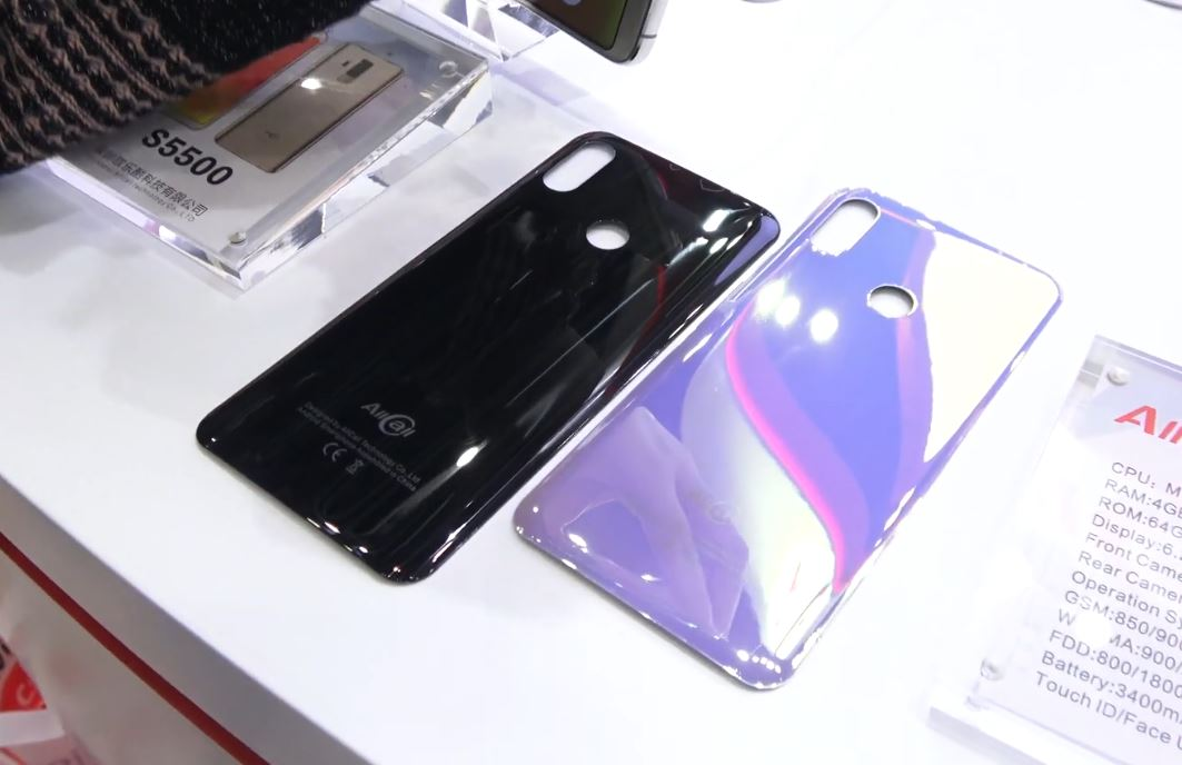 Allcall S10 preview - color options