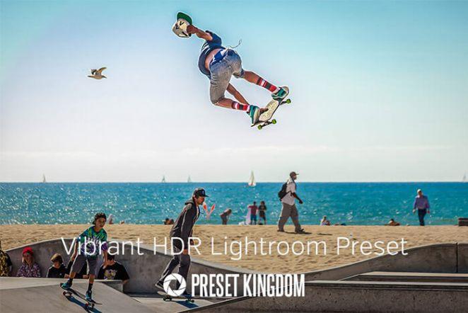Vibrant Colors HDR Lightroom Preset