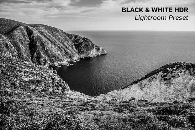 Black & White HDR Lightroom Preset