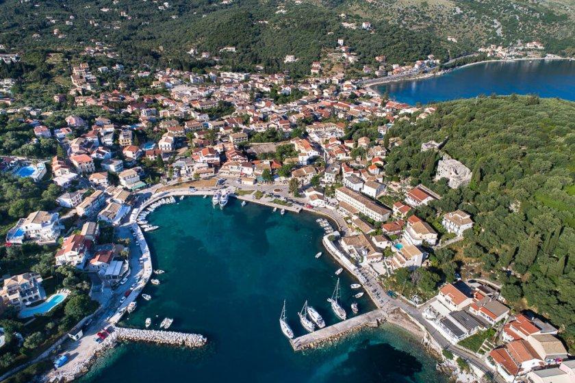 Kassiopi-haven Corfu