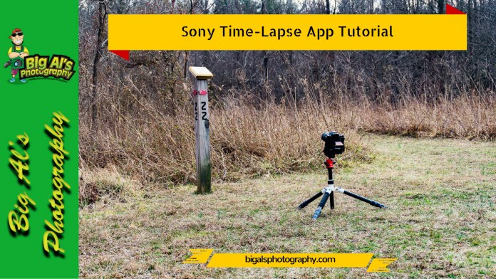 Sony Time-Lapse App Tutorial