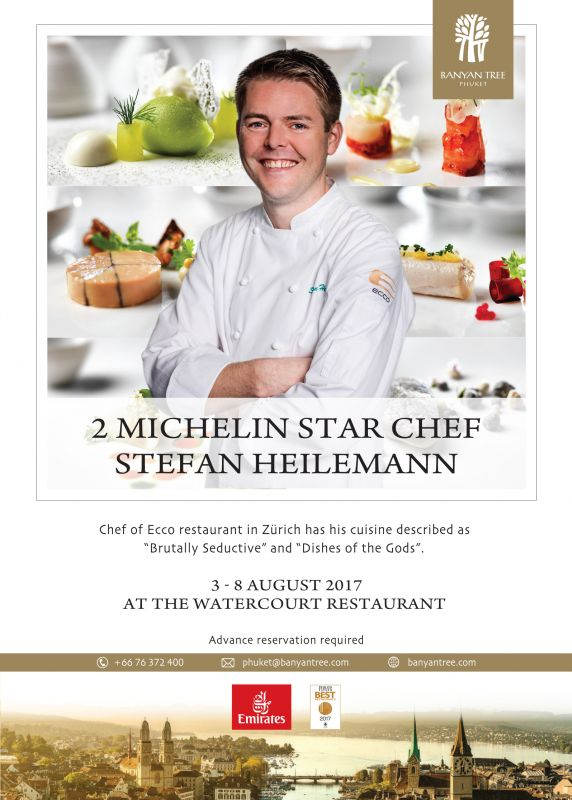 2 Star Michelin Chef at Banyan Tree Phuket