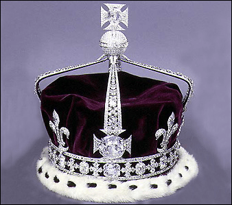 Koh-I-Noor in crown