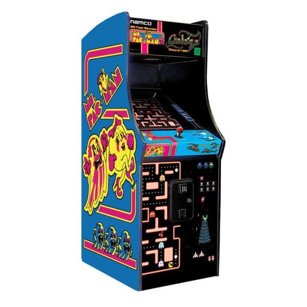 Ms. Pac-man Galaga Arcade Game Online 2999