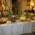 Buffet receptions affordable functional and elegant the pink