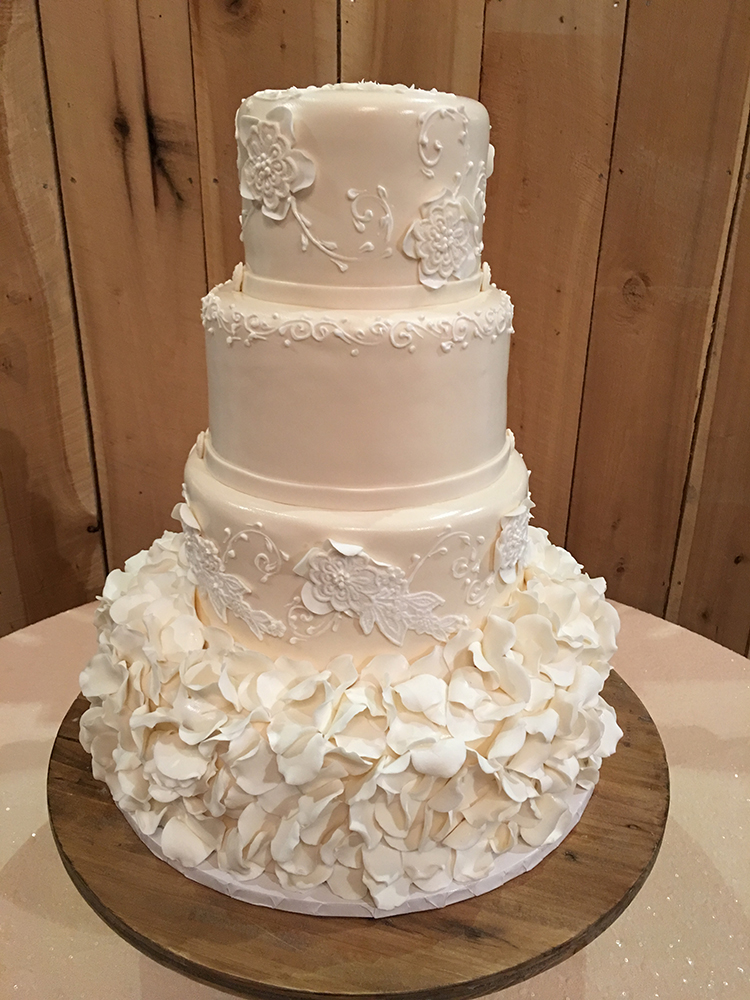 The Traditional Wedding Cake Reimagined  The Pink Bride