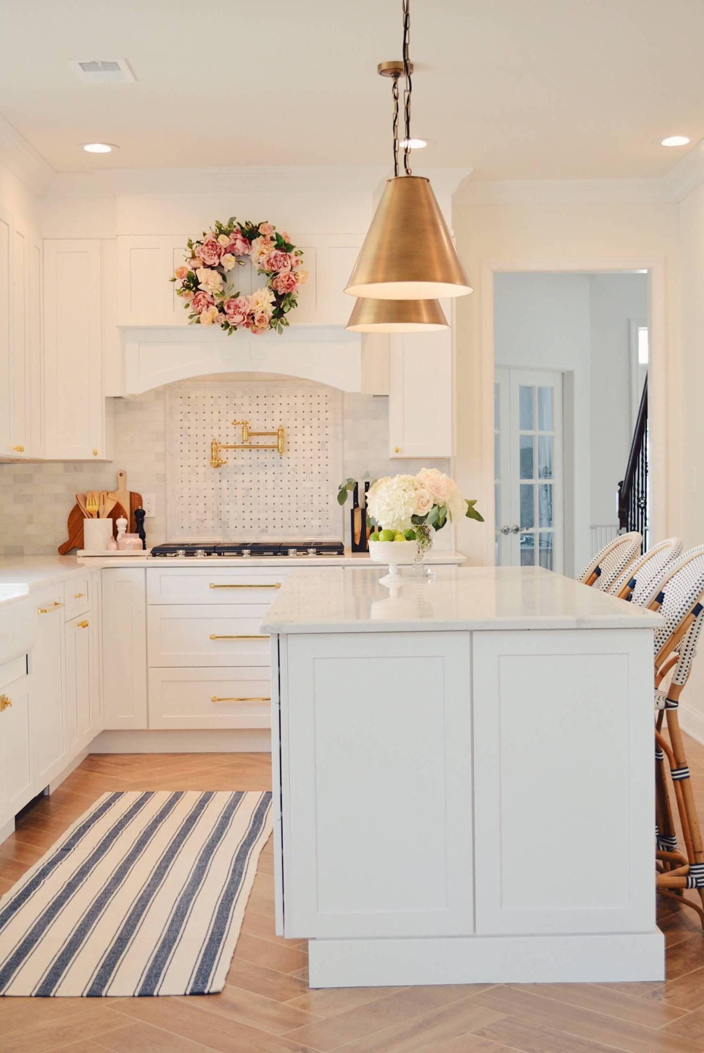 DIY Kitchen Renovation - A Classic White Kitchen Remodel