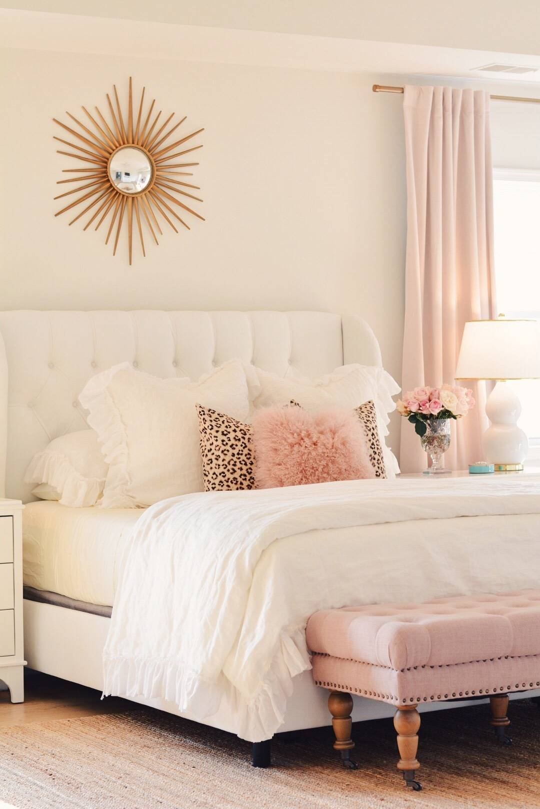 Bedroom Decor Ideas A Romantic Master Bedroom Makeover The Pink Dream