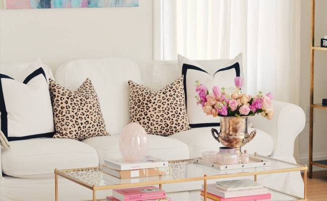 Elegant Spring Home Tour And Easter Decor 2019 The Pink