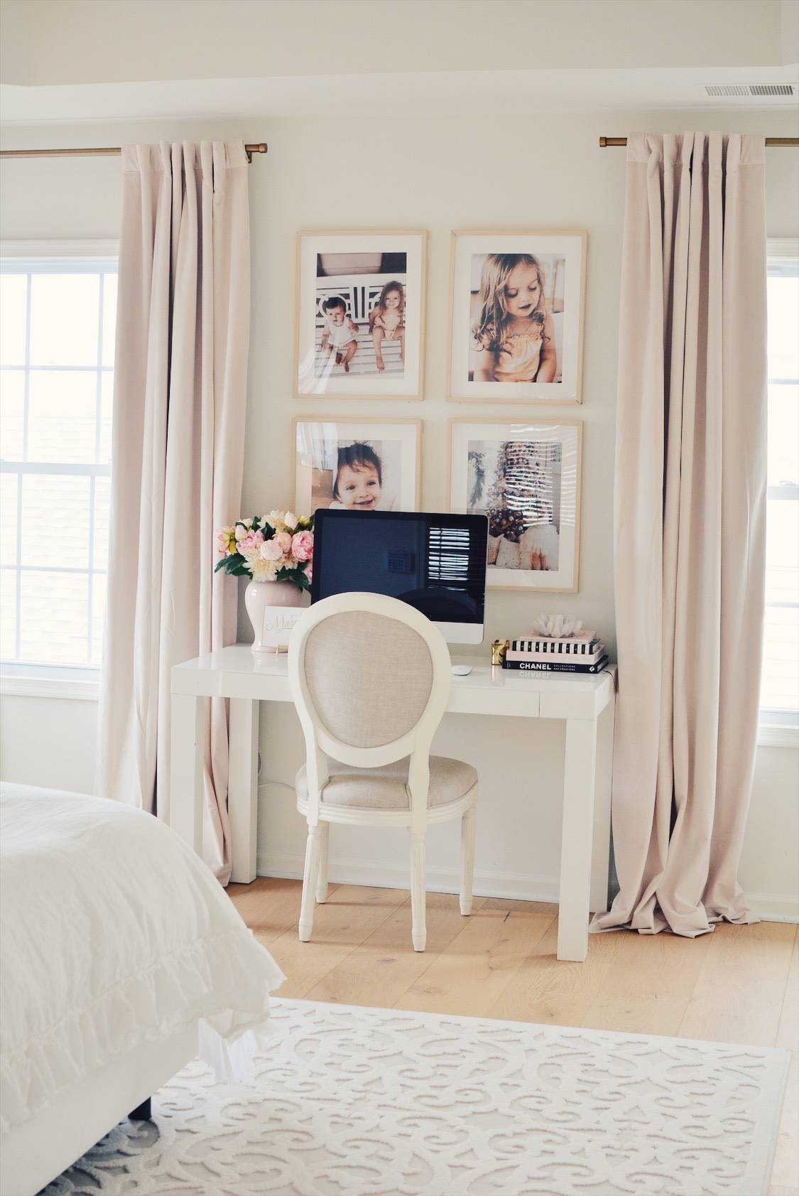 Ikea Hovsta Frames Creating A Family Gallery Wall The Pink Dream