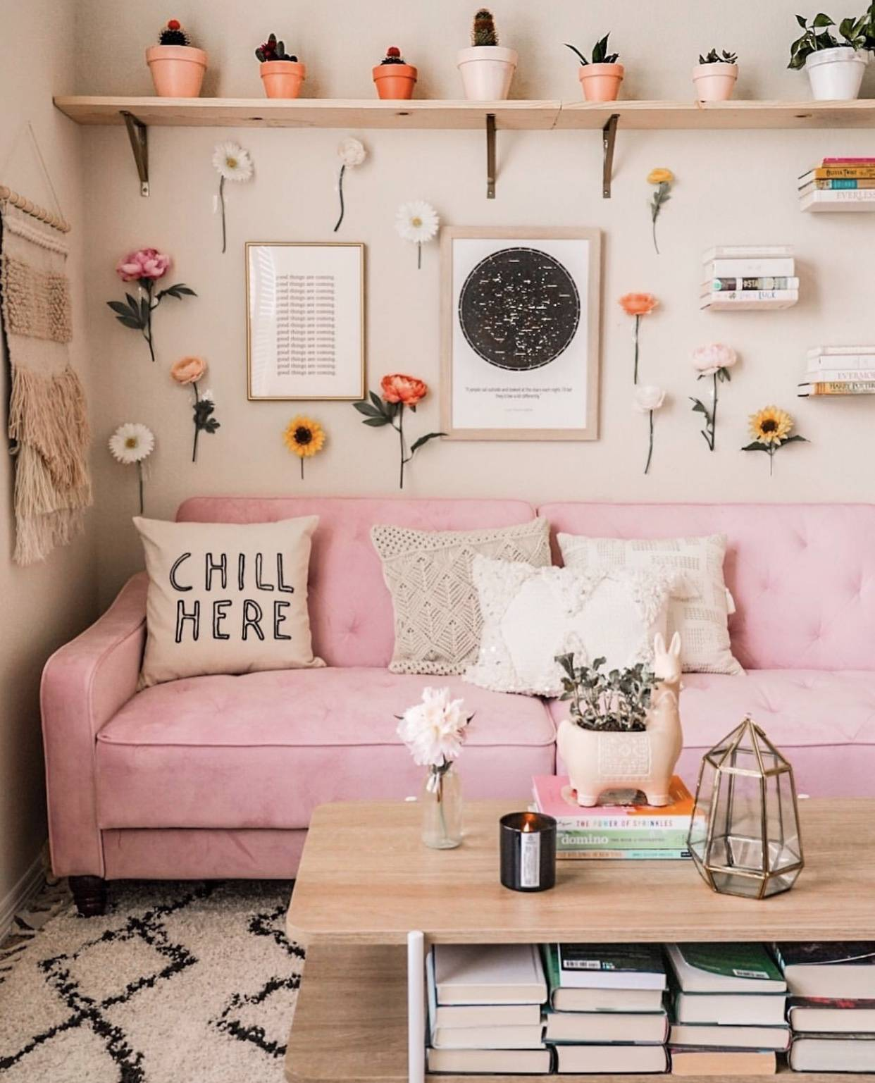 Excellent Vsco Room Ideas How To Create A Cute Vsco Room The Pink Dream Unemploymentrelief Wooden Chair Designs For Living Room Unemploymentrelieforg