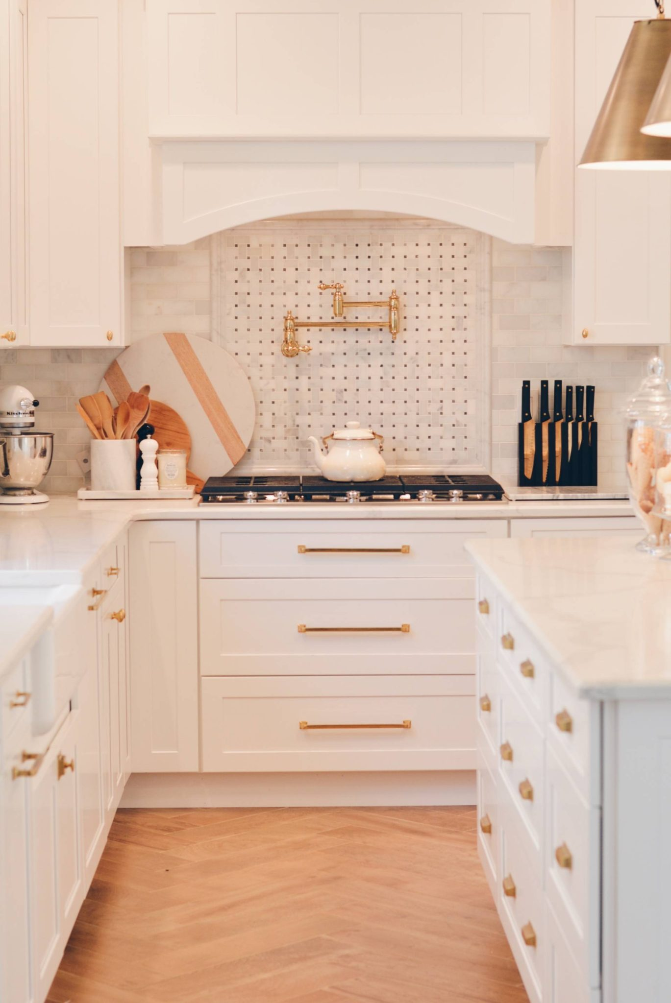 Fabuwood Cabinet Review My Galaxy Frost Kitchen The Pink Dream