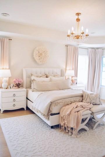 Master Bedroom Decor A Cozy Romantic Master Bedroom The Pink