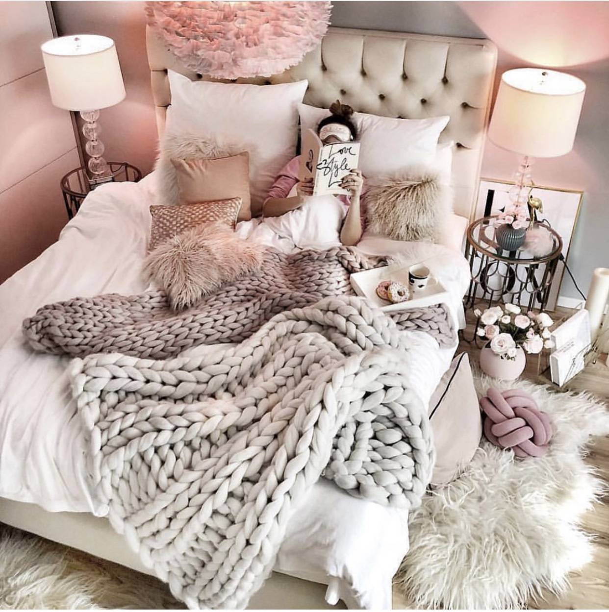 10 VSCO Bedroom Ideas for the VSCO Girl , The Pink Dream