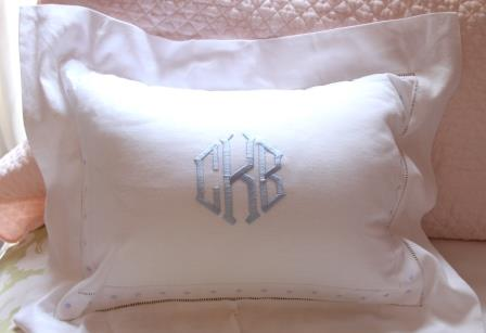 Pillow Monogrammed Covers Pillows