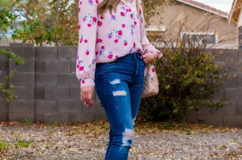 pinkflower_jeans_bootie
