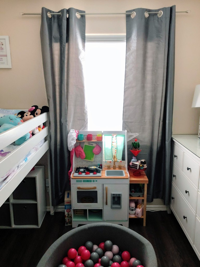 Making space for the big girl bed
