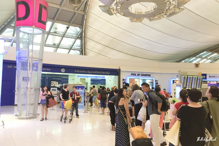Airport Guide Bangkok Suvarnabhumi Airport BKK Tax
