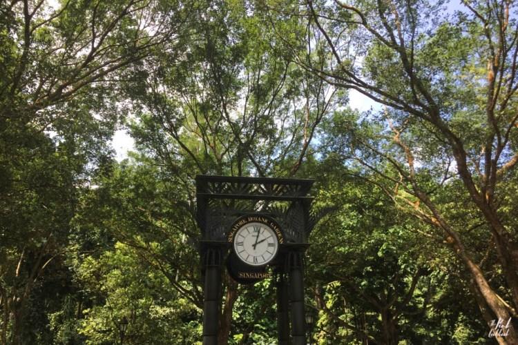 National Orchid Garden Clock