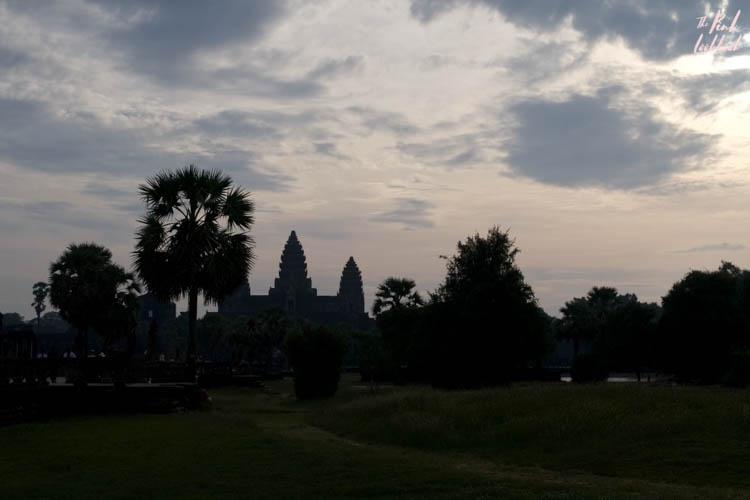Angkor Wat Silhoutte Sunrise