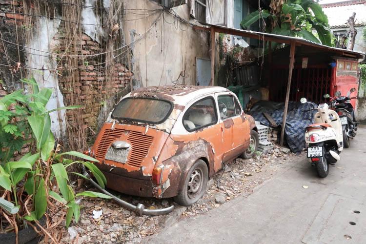 Bangkok Street Art Fiat