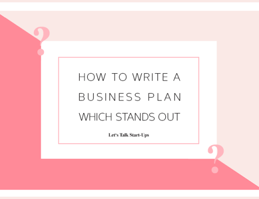 How to write a business plan which stands out