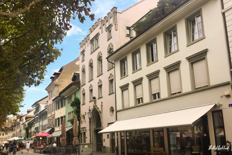 Winterthur Switzerland Day Trip from Zurich Restaurants Graben
