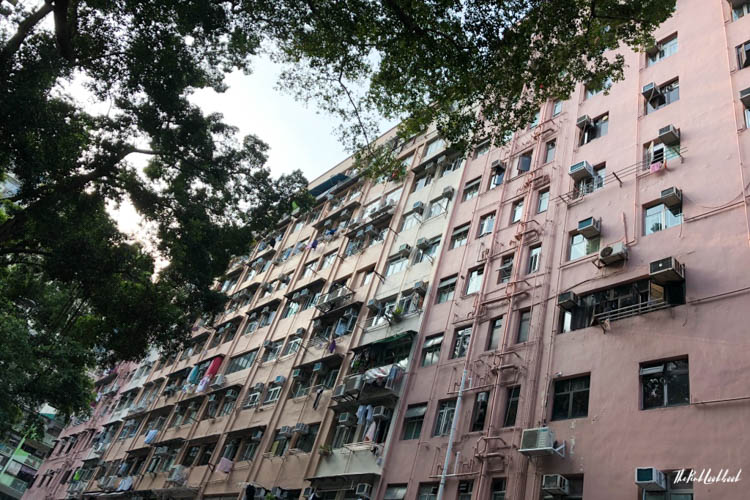 My Favourite Hong Kong Pictures Kennedy Town Pink Building