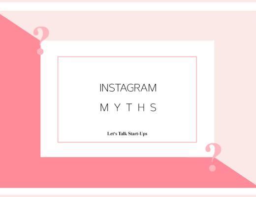 Lets Talk Business Instagram Myths