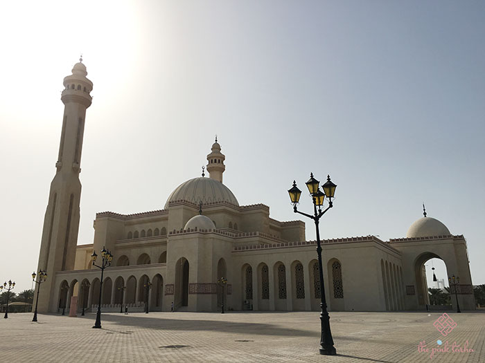 One of the largest mosques in the world.