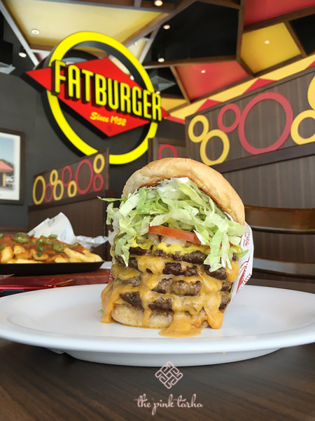 And then there's the QUAD Fatburger O_O