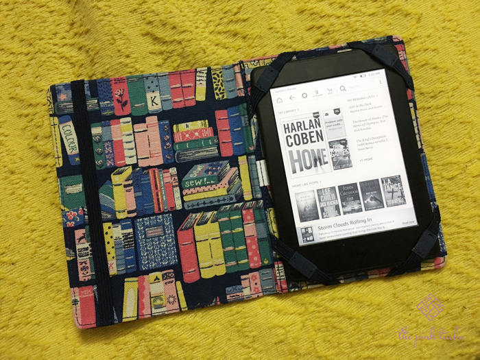 My Kindle Paperwhite and its Cath Kidston cover... making me a couch potato.