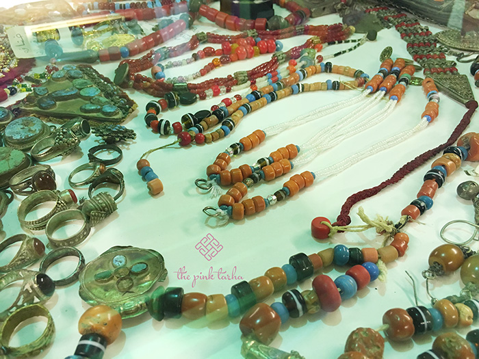 Jewelries that remind me of the Berber accessories of Morocco.
