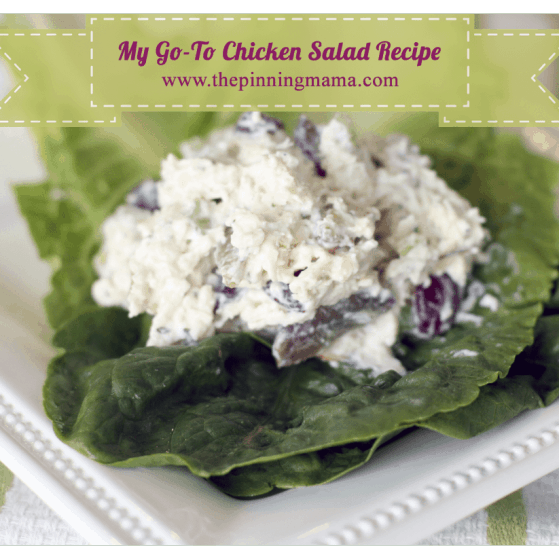 World's BEST Classic Chicken Salad recipe