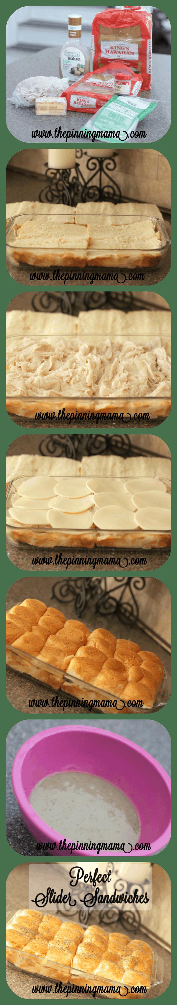 Hot Baked Slider Sandwiches
