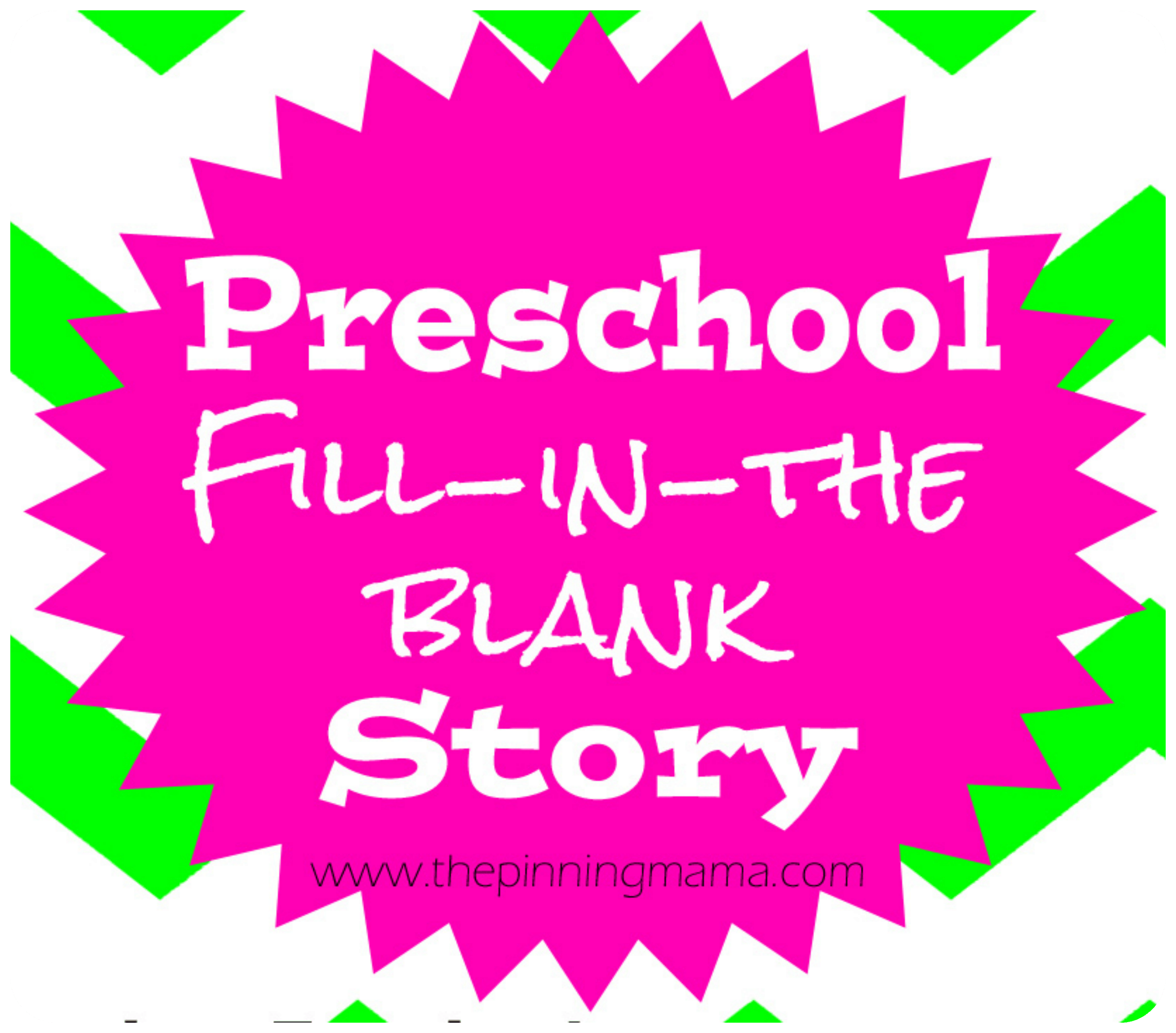 Fun Mad Libs Story Activity For Preschoolers