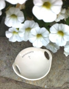{Product Giveaway} Clarey Clayworks Bowls via The Pinning Mama