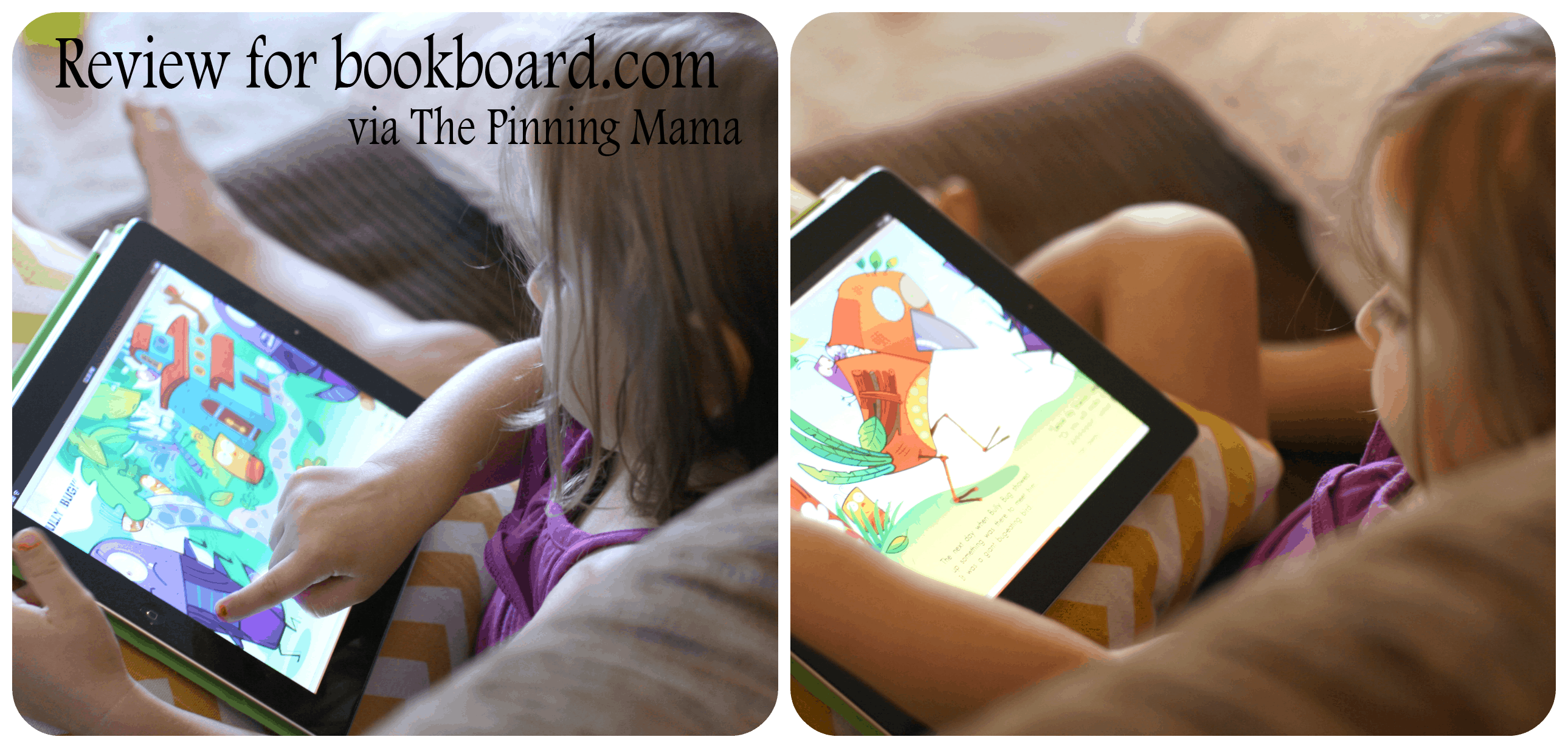 bookboard review kids www.thepinningmama.com