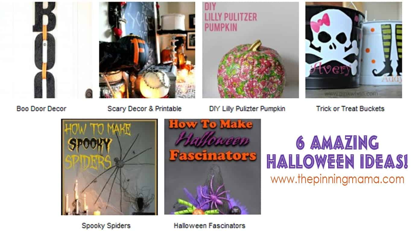halloween ideas www.thepinningmama.com