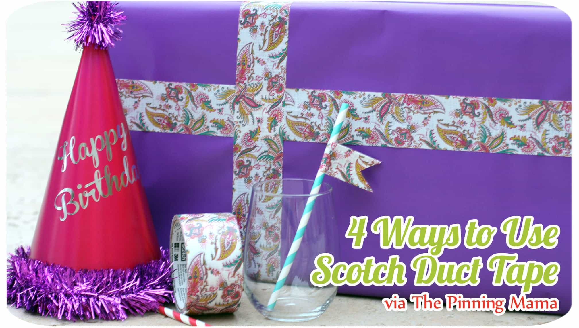 scotch duct tape projects www.thepinningmama.com