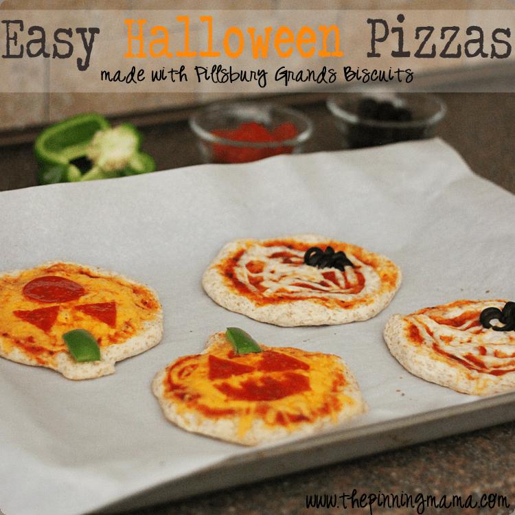 Easy Weeknight Dinner: Pillsbury Halloween Shaped Pizza -click here for recipe