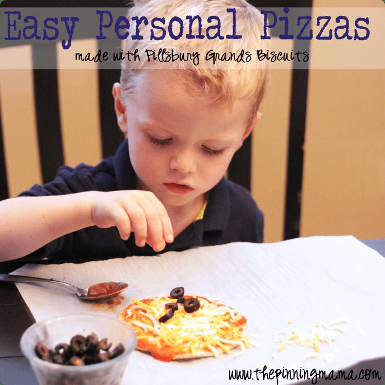 Easy Weeknight Dinner: Pillsbury Personal Pizza by www.thepinningmama.com
