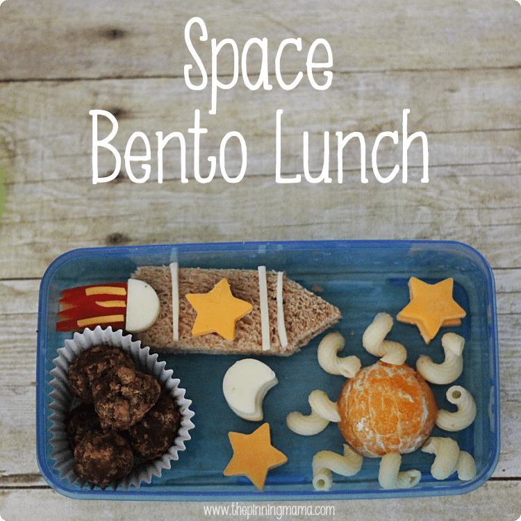 Space Bento Box Lunch by www.thepinningmama.com